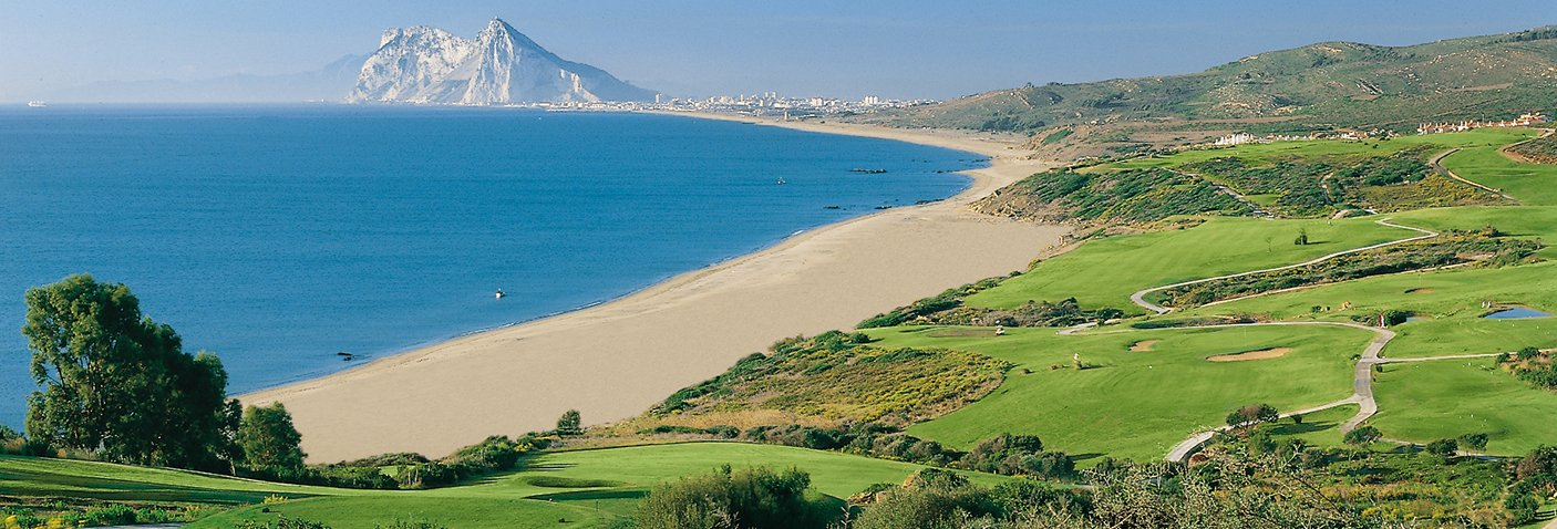 Image of: Alcaidesa Links - Alcaidesa Links Golf Resort | A golf club with views to the sea, Gibraltar, Africa, in the area of Sotogrande