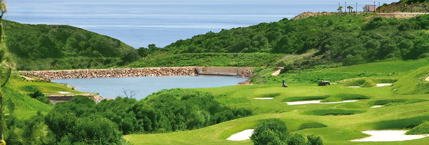 Imagen de: Alcaidesa Heathland - Alcaidesa Links Golf Resort | A golf club with views to the sea, Gibraltar, Africa, in the area of Sotogrande