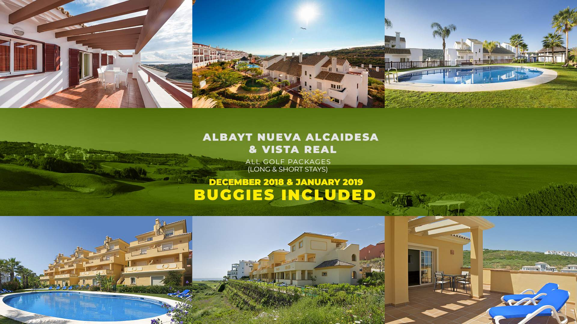 image Promo accomodation and golf Vista Real and Albayt Nueva Alcaidesa