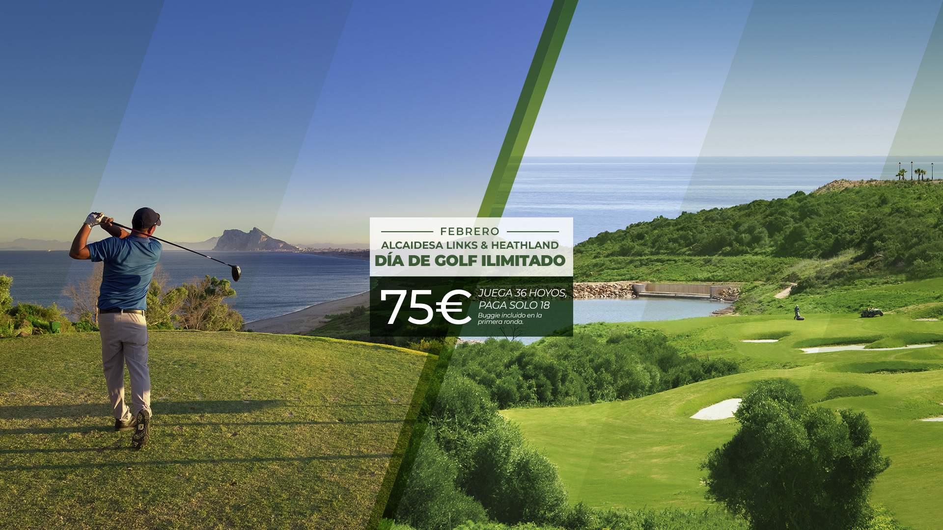Imagen de Día de Golf Ilimitado Alcaidesa Links & Heathland