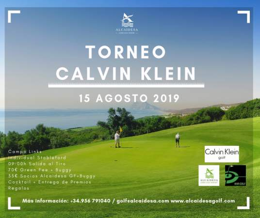 Image: Calvin Klein Tournament 2019 | Alcaidesa Links Golf Resort