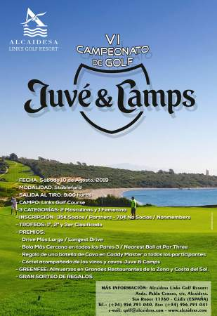 Image: JUVÉ & CAMPS TOURNAMENT 2019 | Alcaidesa Links Golf Resort