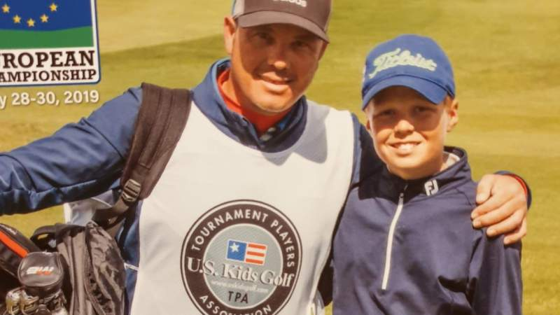 Sebastian Desoisa gana en el European Championship U.S. Kids Golf - Alcaidesa Links Golf Resort