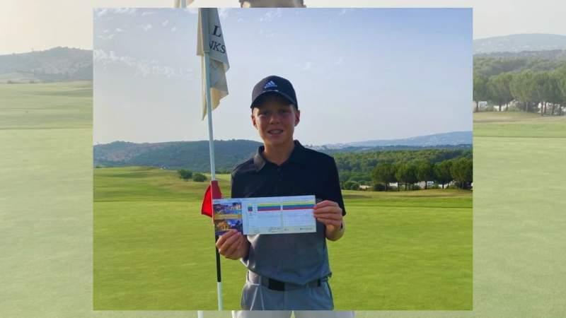 Sebastian Desoisa, una estrella en Alcaidesa!! - Alcaidesa Links Golf Resort
