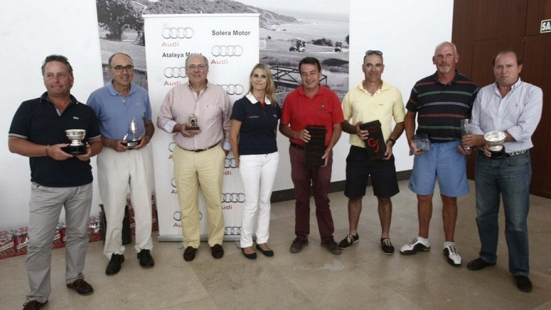 Ignacio Valdes and Alejandro Litrán win the Audi Senior Circuit Tournament in Alcaidesa - Alcaidesa Links Golf Resort