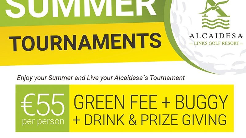 Summer Tournaments - Alcaidesa Links Golf Resort