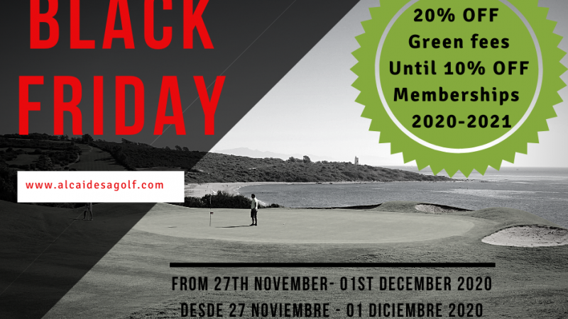 BLACK FRIDAY LLEGA A ALCAIDESA - Alcaidesa Links Golf Resort