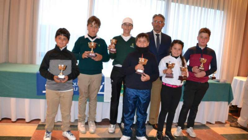 Triumph of Alcaidesa in the Juvenile Circuit and Benjamin de Andalucia - Alcaidesa Links Golf Resort