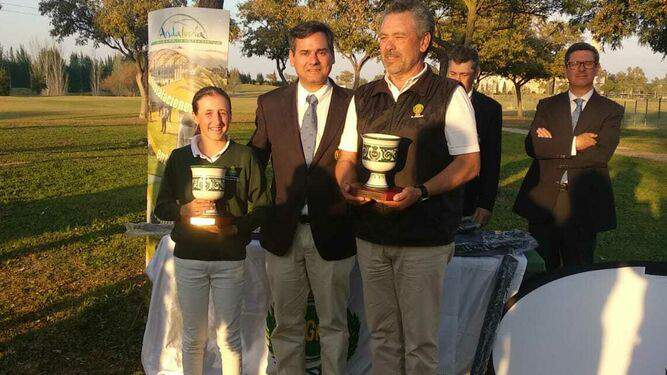 Cristina Albertazzi, Alcaidesa Golf Academy, winner of the Andalusian Youth Circuit Zone C. - Alcaidesa Links Golf Resort