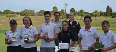 New victory for our young promise Sebastian Desoisa. - Alcaidesa Links Golf Resort