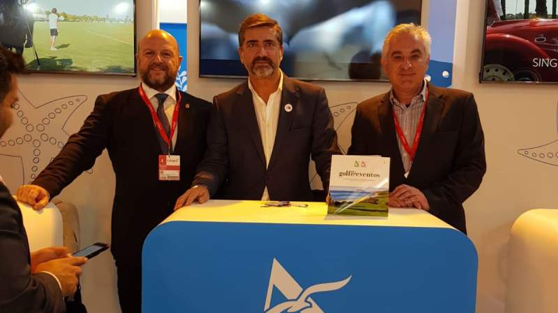 ALCAIDESA GOLF IN FITUR 2019 - Alcaidesa Links Golf Resort