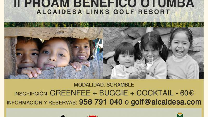 CHARITY TOURNEAMENT II PROAM BENÉFICO OTUMBA - Alcaidesa Links Golf Resort