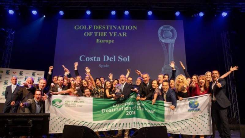 COSTA DEL SOL THE BEST EUROPEAN GOLF DESTINATION BY THE IAGTO IN IGTM 2018 - Alcaidesa Links Golf Resort