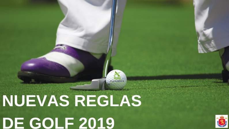 Conoce las Nuevas Reglas de Golf 2019 - Alcaidesa Links Golf Resort