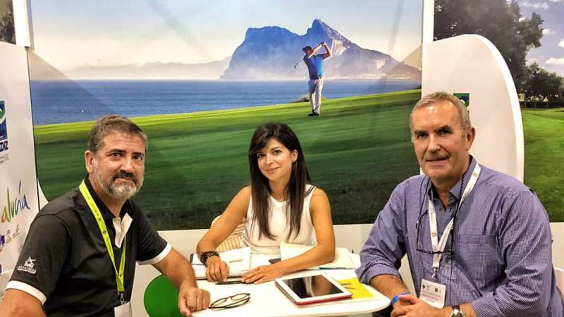 ALCAIDESA LINKS GOLF RESORT AT IGTM (INTERNATIONAL GOLF TRAVEL MARKET) 2019 IN MARRAKECH - Alcaidesa Links Golf Resort