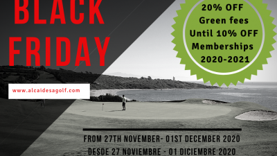 Image: BLACK FRIDAY AT ALCAIDESA | Alcaidesa Links Golf Resort