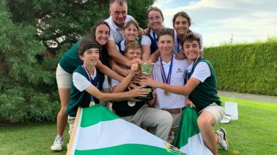 Image: The Andalusian Team winner of the Spanish FF AA Children's Championship, 'VIII Memorial Blanca Mayor' | Alcaidesa Links Golf Resort