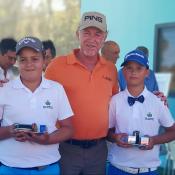 Imagen: Alberto Baños Ramos, de la Academia de Golf Alcaidesa, gana la prueba del Andaluz de Dobles Pitch&Putt de Golf. | Alcaidesa Links Golf Resort