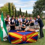 Image of The Andalusian Team winner of the Spanish FF AA Children's Championship, 'VIII Memorial Blanca Mayor' | Alcaidesa Links Golf Resort