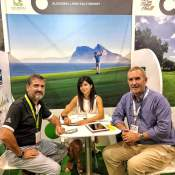 Image of ALCAIDESA LINKS GOLF RESORT AT IGTM (INTERNATIONAL GOLF TRAVEL MARKET) 2019 IN MARRAKECH | Alcaidesa Links Golf Resort