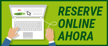 Banner of link to online reservations